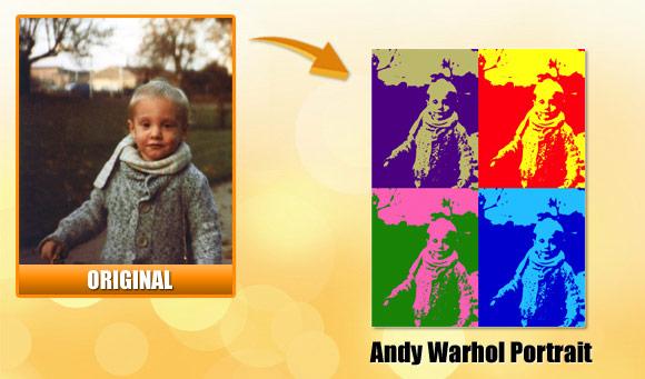 Make An Online Pop Art Andy Warhol Effect Convertimage