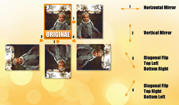 Mirror image photoshop free online