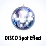 Disco spots / mirrorball effect
