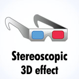 3D Stereoscopic effect
