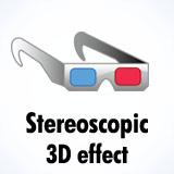 3D Stereoscopic effect