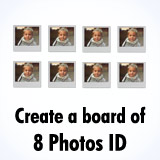 Online photo ID maker
