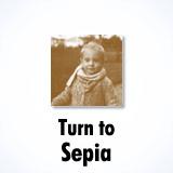 Sepia photo effect
