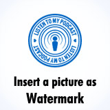 Add a picture watermark / overlay